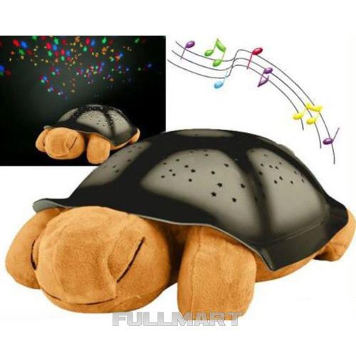 Ночник - проектор черепаха Turtle Night Sky с USB кабелем