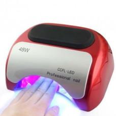 Ультрафиолетовая, гибридная сушилка для ногтей Beauty nail K18 CCFL+LED, лампа 48W