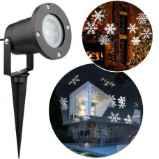 Лазерный проектор для дома Led Strahler Schneeflocke Z2