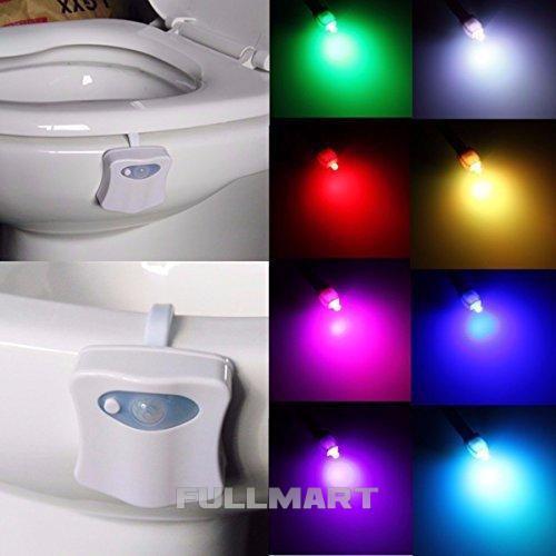 Led подсветка для унитаза TOILET Light Bowl с датчиком движения и света