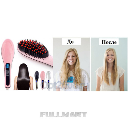 Щетка-выпрямитель Fast Hair Straightener HQT-906