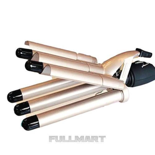 Плойка Волна Gemei GM 2933|Щипцы для завивки Объем 5 волн|стайлер для волос