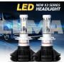 Светодиодные LED лампы X3 H1 для автомобиля   автолампы HEADLIGHT 6000K/6000Lm   автомобильные лед лампы