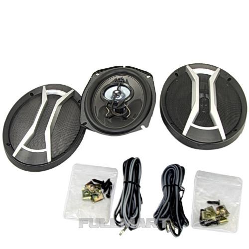 Автоакустика SP-6925 (6'' * 9'', 4-х полос, 1200W) | автомобильная акустика | динамики | автомобильные колонки