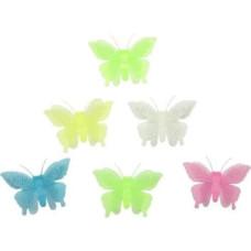 Cветящиеся наклейки на потолок и стену Флуоресцентные бабочки