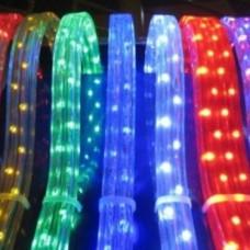 Гирлянда LED дюралайт шланг квадратный RGB 100 м