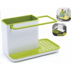 Подставка органайзер для кухонной раковины 3 в 1