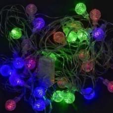 Гирлянда светодиодная Прозрачные шарики 28-40 led