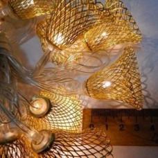 Гирлянда Колокольчик 4 см Золото LED 20