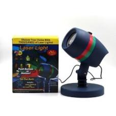 Диско LASER Star shower Laser Light + cassete уличный