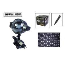 Лазерный проектор белый снег