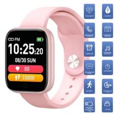 Фитнес-браслет Apple band T85 Big tuch screen, pink