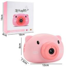 Аппарат для создания мыльных пузырей Bubble Camera Свинка