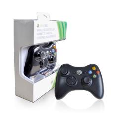 Беспроводной джойстик Microsoft Xbox 360 Black (Оригинал)