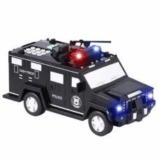 Электронная копилка-сейф машинка Hummer с кодовым замком и отпечатком