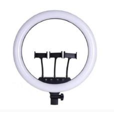 Кольцевая LED лампа Ring Light LC 363 36 см с тремя держателями