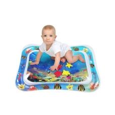 Надувной игровой развивающий детский водный коврик