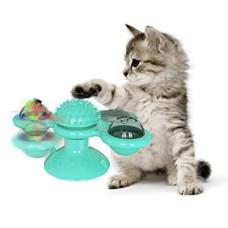Игрушка для кота интелектуальная Спиннер Rotate Windmill