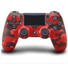 Многофункциональный джойстик DualShock 4 для Sony PS4 V2 (Red Camouflage)