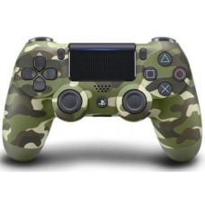 Многофункциональный джойстик DualShock 4 для Sony PS4 V2 (Green Camouflage)