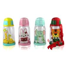 Бутылочка поилка для детей с трубочкой Animals