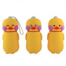 Детская баночка с крышкой в силиконовой защите Duck
