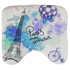 Коврик около унитаза хлопковый Paris mom amour