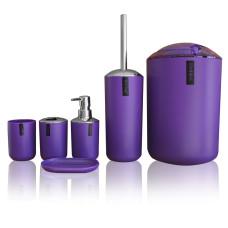 Набор аксессуаров для ванной комнаты  Purple set