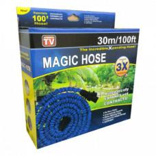 Шланг садовый поливочный X-Hose Magic Hose 22.5 м. с распылителем.