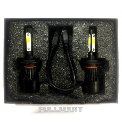 Светодиодные лампы для фар F7 H11 Car LED Headlight,Цветовая температура: 6000K