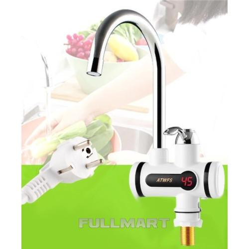 Проточный водонагреватель с экраном WATER HEATER DIGITAL Soft pipe RX002