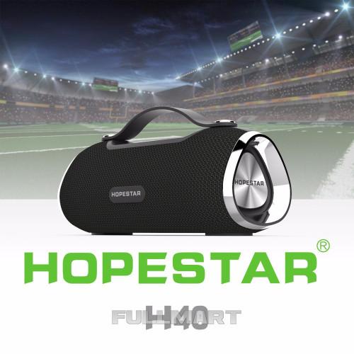 Беспроводная портативная Bluetooth блютуз колонка Hopestar H40 (21*9 см)