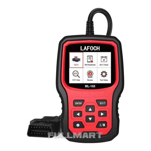 Автомобильный диагностический сканер LAFOCH ML-168 OBD2