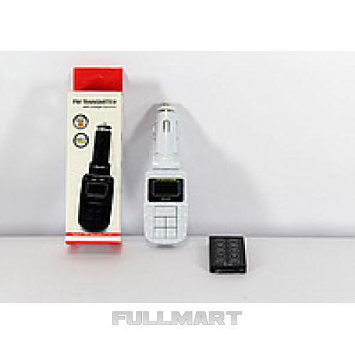 Трансмитер FM MOD. CM I19A, FM-модулятор с зарядкой  для телефона от прикуривателя и от сети