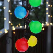 Led гирлянда-лампочки 5м,10 водонепроницаемых цветных шариков