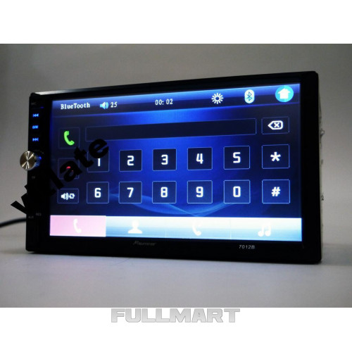 Автомагнитола 2DIN MP5-7012B, USB+Bluetoth