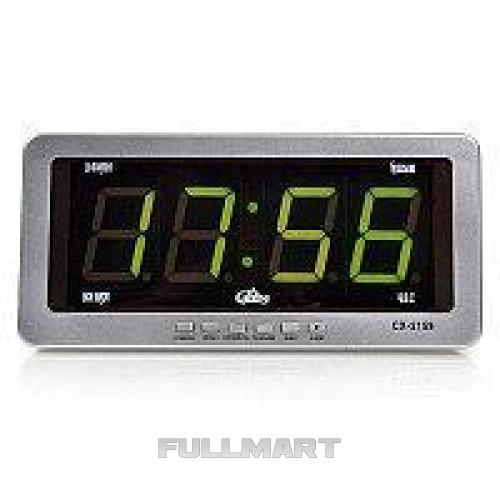 Часы CX 2159 green, Электронные настольные часы, Звуковые часы, Настольные часы, Часы от прикуривателя CG10
