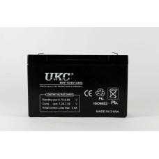 Аккумулятор BATTERY 6V 12A UKC Распродажа
