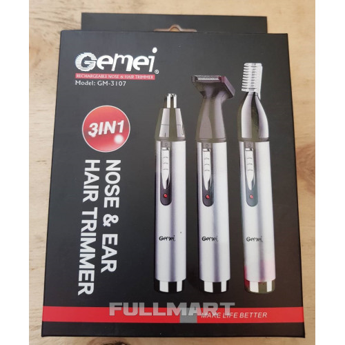 Триммер 3 в 1 Gemei GM-3107 (FL-200)