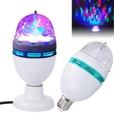 Диско лампа вращающаяся LED lamp для вечеринок LASER LY 399 E27