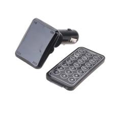 Трансмитер FM MOD. H16, FM-модулятор с зарядкой  для телефона от прикуривателя и от сети