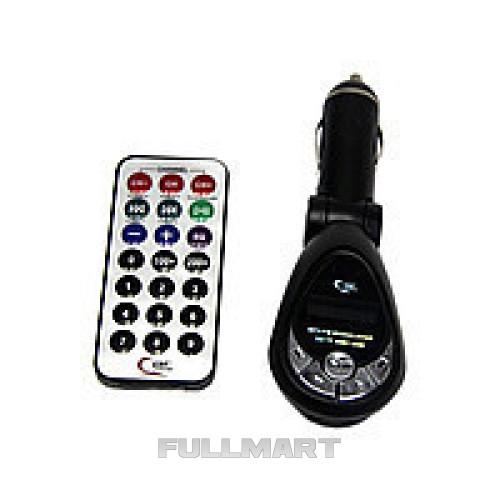 FM-модулятор Трансмитер  с зарядкой для телефона FM MOD. CM 011/bp-01, от прикуривателя и от сети
