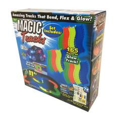 Светящийся гоночный трек конструктор Magic Track 1862  на 220 деталей