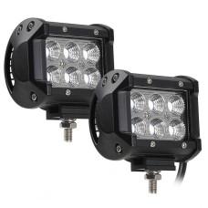 Автофара LED (6 LED) 5D-18W-SPOT CG02