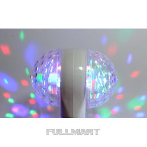 Светодиодная вращающаяся дисколампа Ball 2015-1