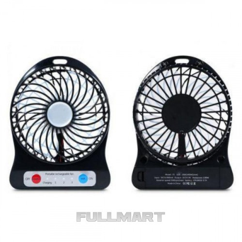 Мини вентилятор mini fan XSFS-01 с аккумулятором