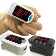Беспроводной пульсоксиметр, пульсометр на палец UKC Pulse Oximeter BL-230B с LCD дисплеем
