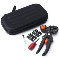 Профессиональный прививочный секатор Grafting Tool с 3 ножами для обрезки и прививки деревьев в кейсе