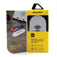 Адаптер для телефона беспроводной AWEI W2 + WIRELESS CHARGE