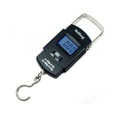 Электронные весы-кантер до 50 кг WeiHeng WH-A08 Чёрные